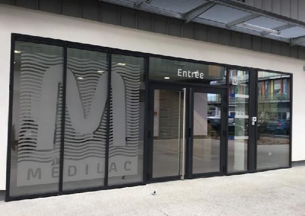 B&acirc;timent M&eacute;dilac, p&ocirc;le m&eacute;dical et param&eacute;dical Savoie Technolac<br /> www.ntissot.fr