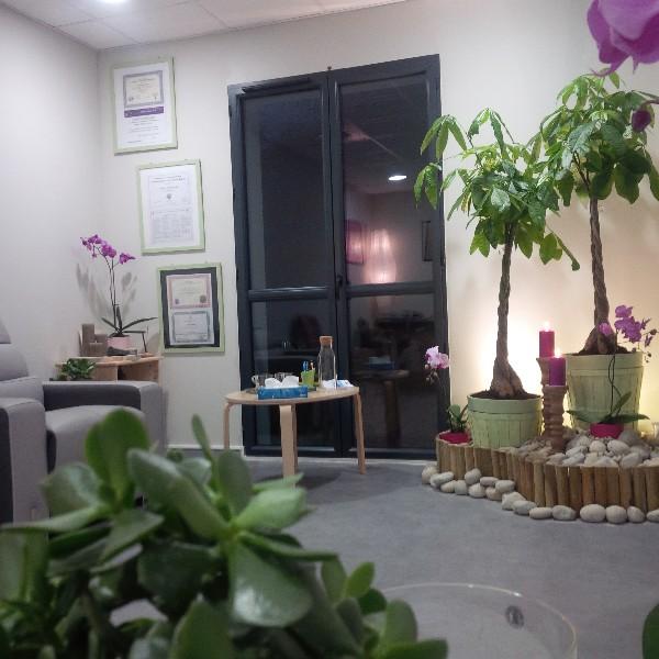 Un jardin intérieur pour vous accueillir et favoriser votre bien-être...